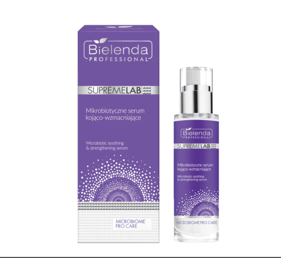 Best cosmetics for sensitive skin.Microbiome protection.