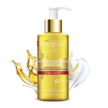 Bielenda cosmetics UK.Best Face wash with argan oil.