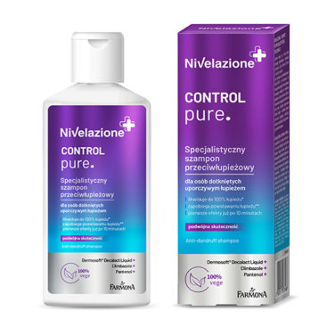 Effective anti-dandruff shampoo.