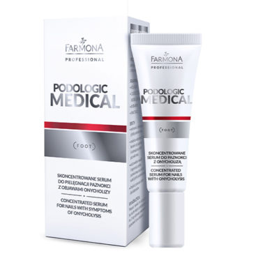 Professional podologic product for foot care.